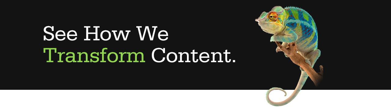 See how we transform content.